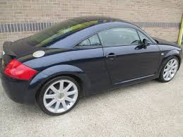used audi tt coupe for sale used audi tt 2003 blue colour petrol 1 8 t quattro 225bhp coupe
