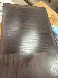 how to refinish veneer table help 70 s dining table refinishing veneer top a mess
