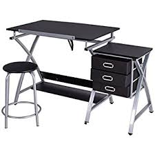 amazon com tangkula drawing desk drafting table adustable top art