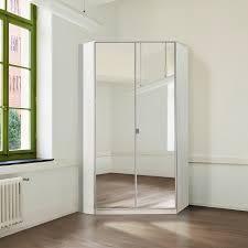 Ikea Armadi A Muro by Armadio Ad Angolo Gamma Con Specchio Bianco Alpino Camere