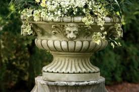 classic white garden urn all about planters large commercial