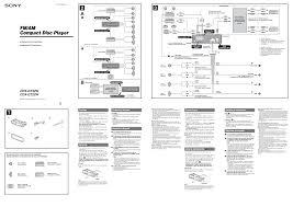 sony cdx gt450u wiring diagram and schematic design throughout