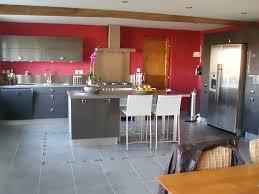 cuisine avec mur en deco cuisine trendy decoration cuisine mur photo decoration
