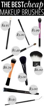 cheap professional makeup the best cheap makeup brushes every brush you ll need all for