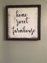 home sweet farmhousefarmhouse signs rustic wood
