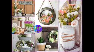spring home decor ideas 50 lovely farmhouse spring home decor ideas 2018 youtube