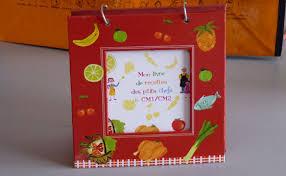 faire un livre de cuisine livre de recettes par des enfants cadeau original pour une vente d