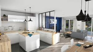 logiciel 3d cuisine logiciel dessin maison 3d cuisine blanche ouverte sur la pi ce de