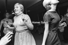 thames river boat hen party hen do party girls night out 1970s english society homer sykes