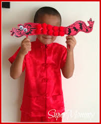 easy kid u0027s craft chinese new year dragon