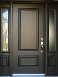 minimalist door design black color 4 home ideas