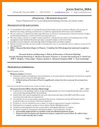 financial analyst resume exle 10 pricing analyst resume cv administratif