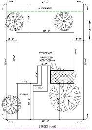 residential site plan residential site plan drawing clipartxtras
