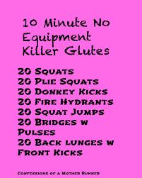 10 minute killer glute