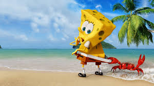 spongebob squarepants on steroids is headed to the big screen is