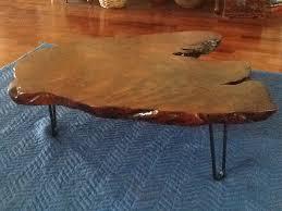 Redwood Coffee Table Diy Furniture Project Redwood Coffee Table Modern Legs