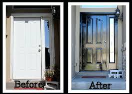 Black Exterior Gloss Paint - front door stupendous repainting front door ideas painting metal
