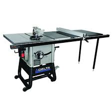 delta 10 inch contractor table saw delta power tools 36 5152 delta left tilt table saw with 52 inch rh
