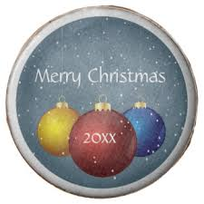christmas balls cookies zazzle