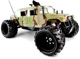 v2 26cc 1 5th petrol rc monster trucks hummer 2 4ghz