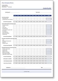Flow Excel Template Flow Excel Template In Blue