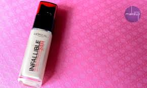 l oreal paris 24hr infallible reno liquid foundation swatches review and in india