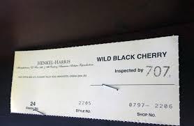 Henkel Harris Dining Room Furniture Henkel Harris Wild Black Cherry Dining Table Sold U2013 Jenkins Antiques