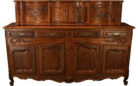 French Country Sideboards - consigned vintage french country sideboard walnut farmhouse