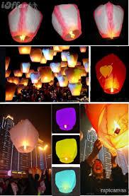 sky lantern paper wish lantern on sale 100pc lot for sale