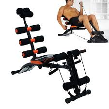 Bench Abs Workout 6 In 1 Home Gym Six Pack Care Ab Rocket Core Exercise Bench