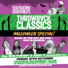 southern hospitality presents throwback classics halloween