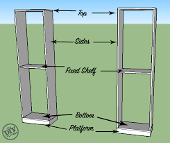 How To Build Bookshelves How To Build Custom Bookcases The Diy Village