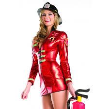 Firefighter Costume Set For Women Halloween Costume