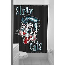 Shower Curtain For Sale Stray Cats Shower Curtain Sale