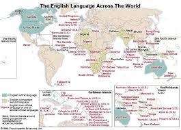 language setting pattern used in society english language historical background britannica com