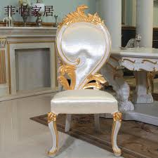 Luxury Chairs Aliexpress Com Buy Luxury Italian Style Dining Chairs Solid Wood