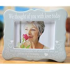 remembrance picture frame a sympathy memorial gift for the loss of a