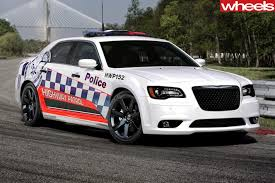 chrysler conquest engine nsw police order 282km h v8 patrol cars wheels