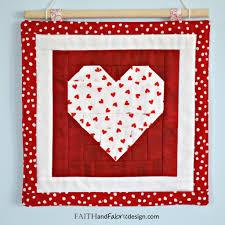 pattern saint valentine u0027s day quilt pattern u2013 love table runner