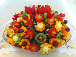 edible bouquet how to make fruit arrangements with nita s lessons