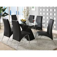 black dining room table set modern contemporary dining room sets allmodern