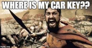 Car Keys Meme - sparta leonidas meme imgflip