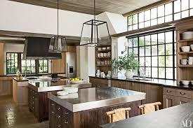 napa kitchen island these 20 black kitchens a stylish impact black granite