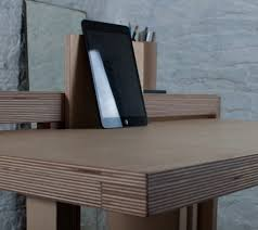 Small Desk Table Drop Leaf Desk Small Side Table Converts Into Work Surface Urbanist
