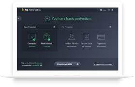 avg free antivirus virus protection software