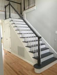 painted stairs houzz has lots of advice with specific bm