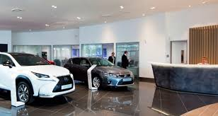 lexus showroom lexus overhauls dealer identity with look for showrooms