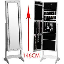 full length mirror with led lights full length mirror with led bulb lights stainless steel amazon co