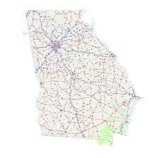 Ga Counties Map Georgia Maps Map Of Georgia Printable Georgia Map