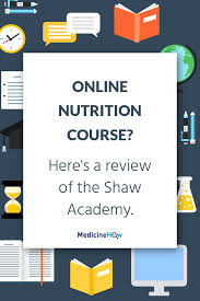 shaw academy review diploma in personal nutrition